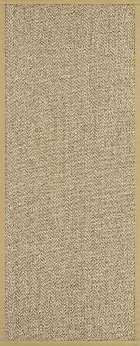 Vaip Sisal Tuna Kalasaba kuldne 80 x 160 cm