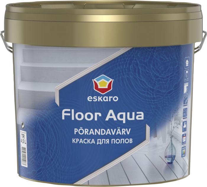 Põrandavärv Floor Aqua 4,5 l