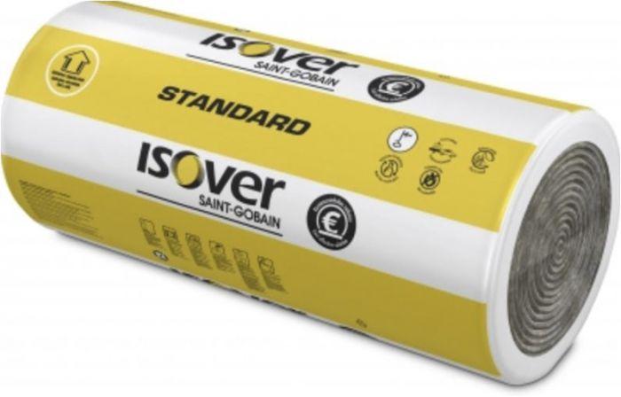 Mineraalvill Isover Standard Roll 40-100, 1220 x 7000 mm
