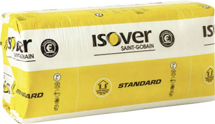 Mineraalvill Isover Standard KL 35-50, 565 x 870 mm