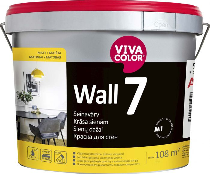 Seinavärv Vivacolor Wall 7 2,7 l