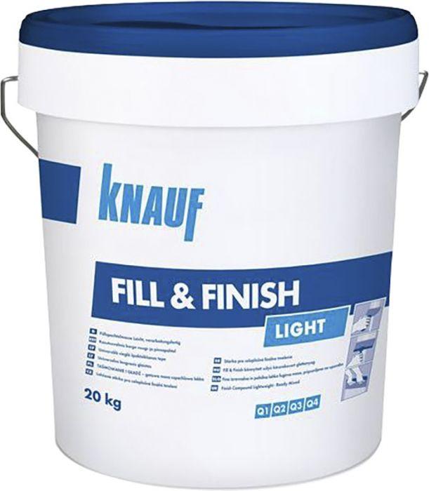 Kergpahtel Knauf Fill & Finish Light 20 kg