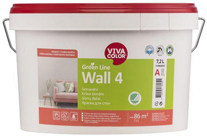 Seinavärv Green Line Wall 4 7,2 l