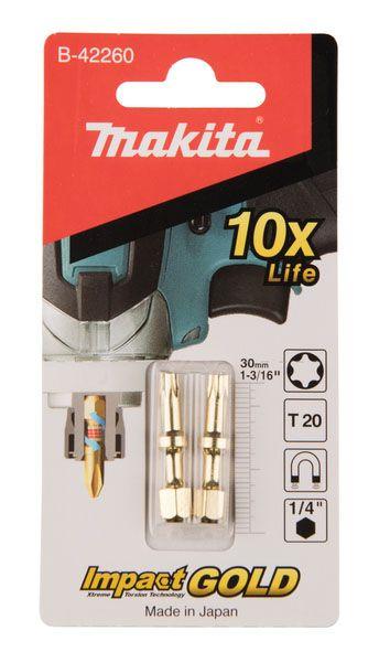 Kruvikeeraja otsikud Makita Torison TX20, 30 mm, 2 tk