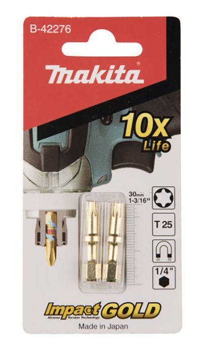 Kruvikeeraja otsikud Makita Torison TX25, 30 mm, 2 tk