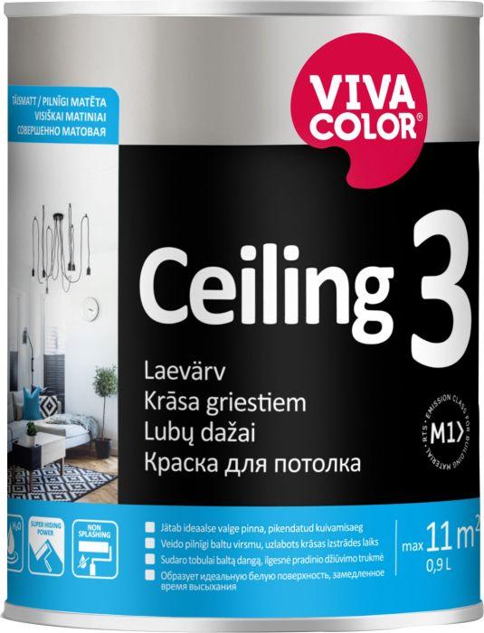 Laevärv Vivacolor Ceiling 3 täismatt