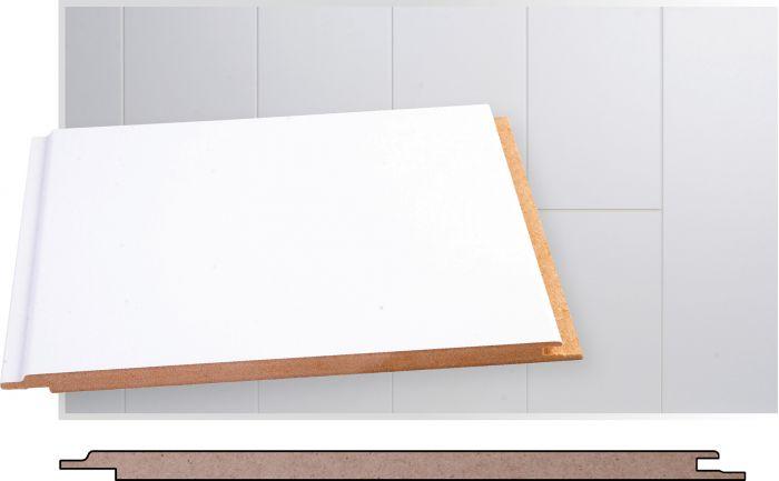 Laepaneel Maler MDF valge 8 x 185 x 2070 mm