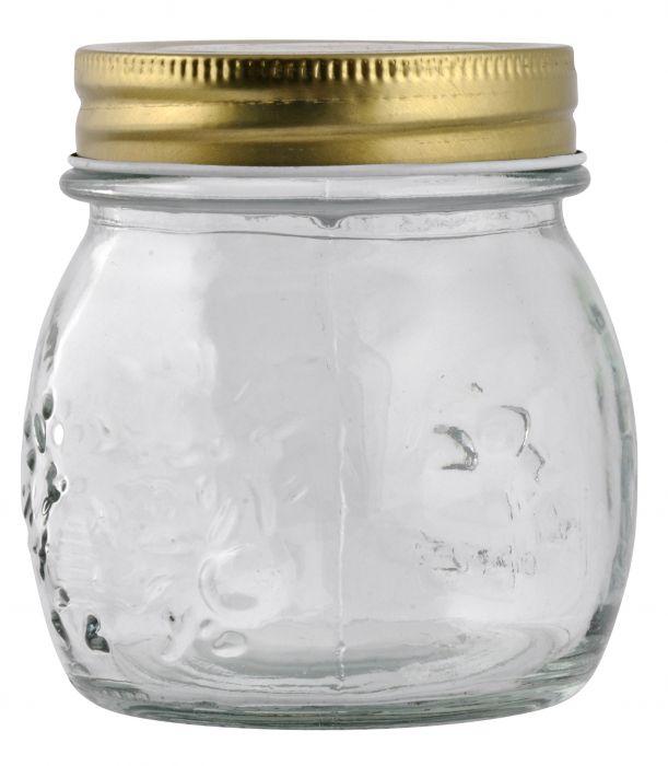 Keeratava kaanega klaaspurk 0,25 l