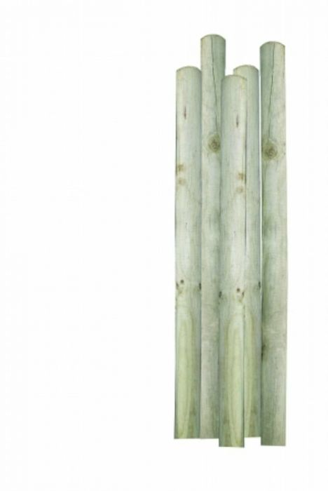 6 sügavimmutatud aiaposti NTR-A 5 x 125 cm