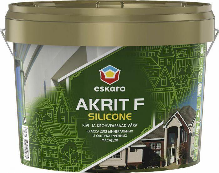 Fassaadivärv Eskaro Akrit F Silicone 2,7 l