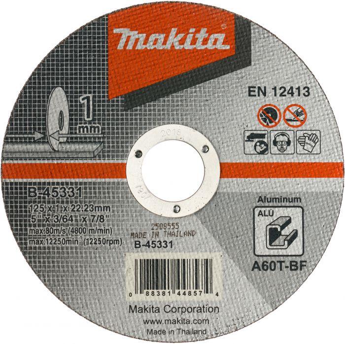 Metalli lõikeketas Makita 125 x 0,8 mm RST/Metal OFF-SET