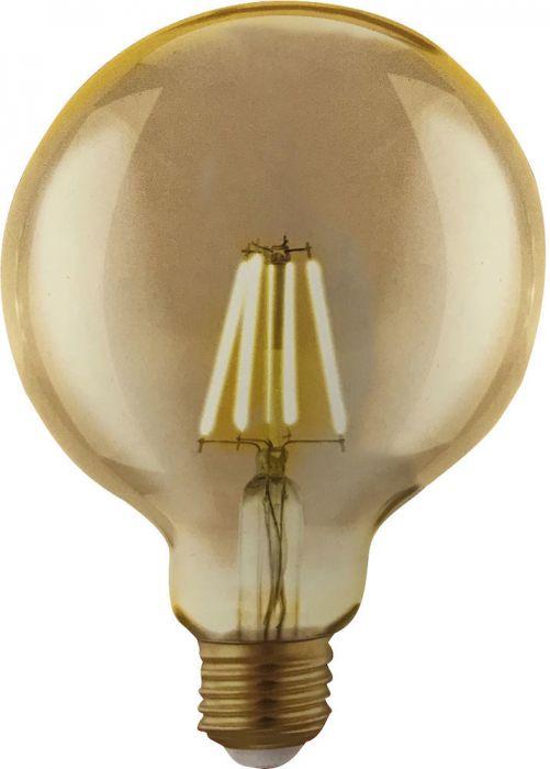 3 LED-lampi Globe 4,5 W
