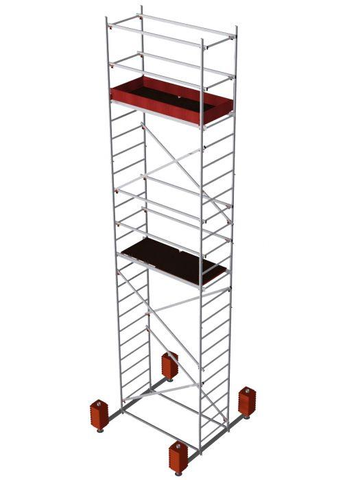 Teisaldatav ehitustelling Krause Corda töökõrgus 7 m