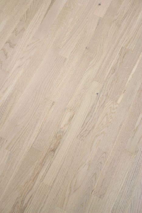 Puitparkett tamm Country valge matt lakk, 4-lipiline 14 mm