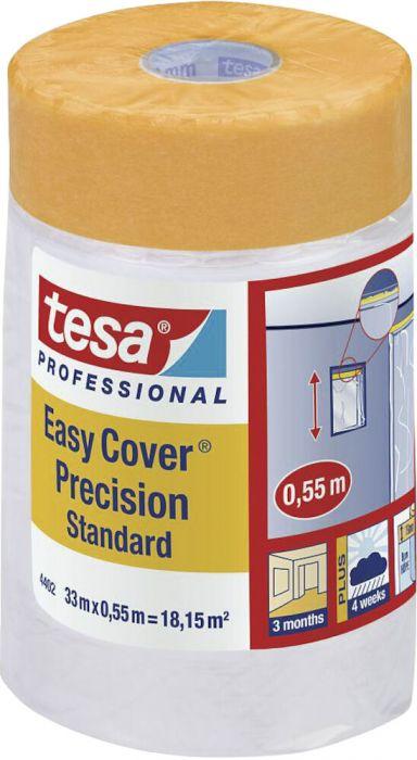 2 kaitsekilega maalriteipi Tesa Easy Cover Precision 33 x 0,55 m