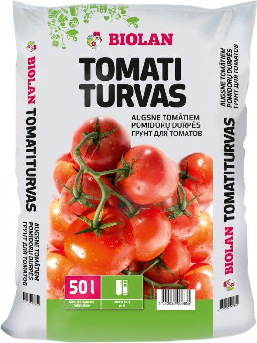 4 kotti Tomatiturvast 50 l