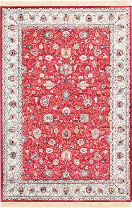 Viskoosvaip Almira, punane  65 x 135 cm