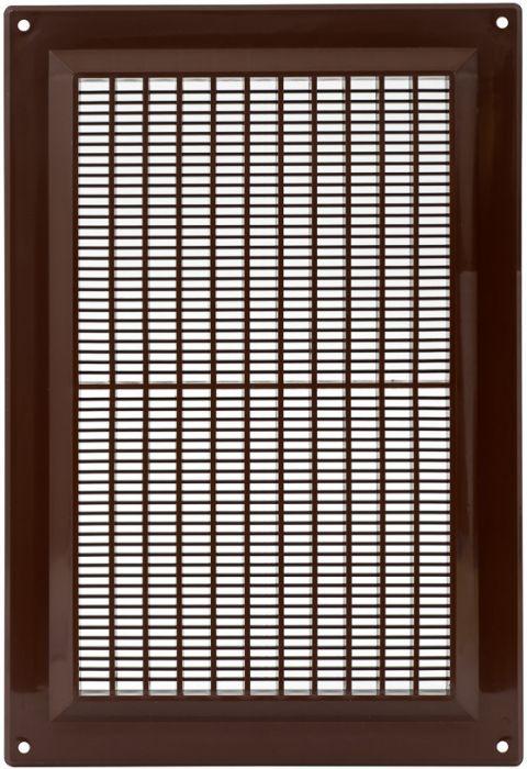 Ventilatsioonirest Europlast pruun 170 x 250 mm