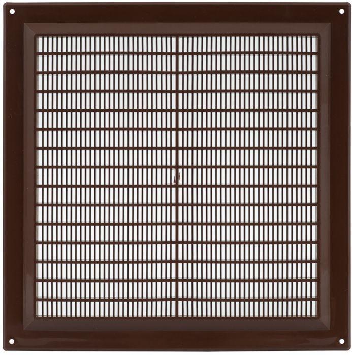Ventilatsioonirest Europlast pruun 250 x 250 mm