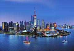 Fototapeet Shanghai Skyline