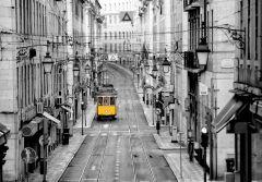 Fototapeet Street of Lisbon