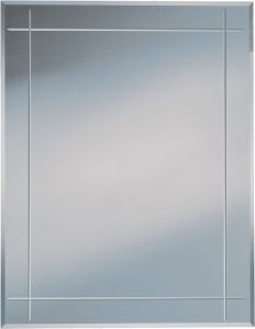 Peegel Kristallform Karo 70 x 90 cm