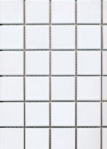 Mosaiik Square valge 30 x 30 cm Valge