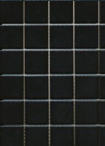 Mosaiik Square valge 30 x 30 cm Must