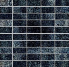 Mosaiik Metallic must 30 x 30 cm