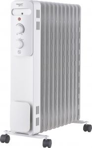 Õliradiaator Voltomat 2500 W, valge