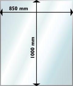 Klaasplaat põrandale Aduro