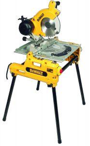 Pööratav järkamis- ja platesaag Dewalt DW743N, 2000 W