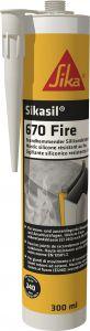 Silikoonvuukimismass Sikasil-670 Fire 300 ml