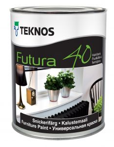Mööblivärv Teknos Futura 40 0,9 l