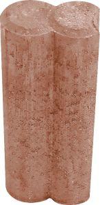Äärekivi betoonist Duopal 6 x 10 x 25 cm pruun