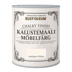 Mööblivärv Rust-Oleum Chalky Finish Antique White 125 ml