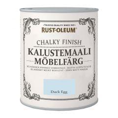 Mööblivärv Rust-Oleum Chalky Finish Duckegg 750 ml