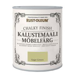 Mööblivärv Rust-Oleum Chalky Finish Sage Green 750 ml