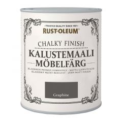 Mööblivärv Rust-Oleum Chalky Finish Graphite 750 ml