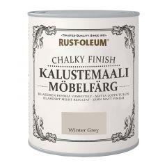 Mööblivärv Rust-Oleum Chalky Finish Antique White 750 ml