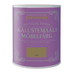 Mööblivärv Rust-Oleum Metallic Finish, kuldne 125 ml