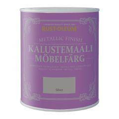 Mööblivärv Rust-Oleum Metallic Finish, hõbedane 125 ml