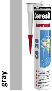 Sanitaarsilikoon Ceresit CS25 280 ml, Gray 07