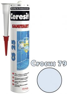 Sanitaarsilikoon Ceresit CS25 280 ml, Crocus 79