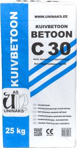 Kuivbetoon C30 25 kg