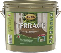 Terrassiõli Aura Terrace, värvitu 9 l