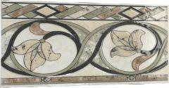 Bordüür Cenefa Polux 5 x 23 cm