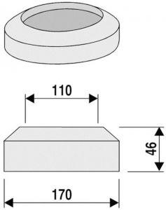 WC rosett Sanit