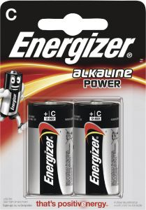 Patareid Energizer C 2 tk