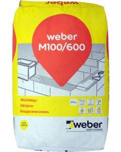 Müürisegu Weber M 100/600 25 kg